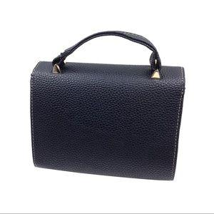 Ocean Fashion Bags - Elegant black small leather bag